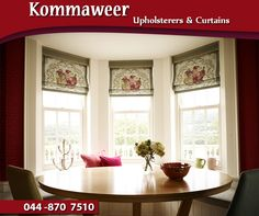 #ThrowbackThursday: In the early 1700's, paired and pull-up curtains remained popular. It was around this time that roller blinds, Venetian blinds and net curtains were introduced, which were used in conjunction with curtains to admit light whilst protecting furniture from the sun. #Kommaweer