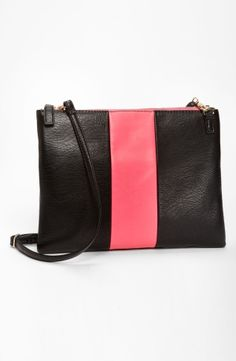 Street Level Colorblock Convertible Clutch by nordstrom