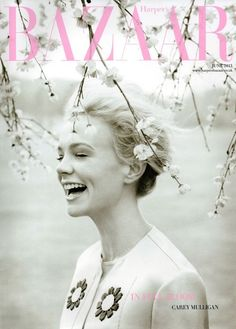 UK Harper's Bazaar June 2013: Carey Mulligan by Tom Allen