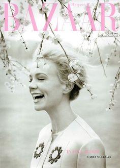 fuckyeahhotactress: UK Harper's Bazaar June 2013: Carey Mulligan by Tom Allen