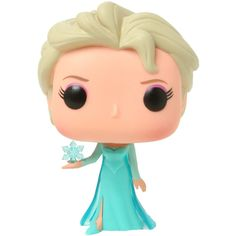 Funko Disney Frozen Pop! Elsa Vinyl Figure   Hot Topic ($10) ❤ liked on Polyvore featuring toys, disney, frozen and hot topic