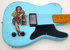 Telecaster Guitar, Fender Telecaster, Fender Guitars, Black Telecaster, Music Guitar, Cool Guitar, Acoustic Guitar, Vintage Electric Guitars, Cool Electric Guitars