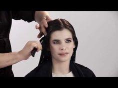 ▶ Anleitung - So stylen Sie natürliche Locken in Ihr Haar - YouTube