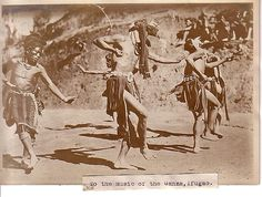 Igorots perform Ifugao Dance, Philippines 1911 Philippine Buhay Pinoy Noon old pictures photograph black and