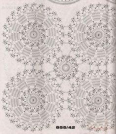 """S-au găsit pe site-ul o Crochet Motif Patterns, Crochet Diagram, Crochet Chart, Thread Crochet, Filet Crochet, Irish Crochet, Crochet Stitches, Crochet Curtains, Crochet Tablecloth"