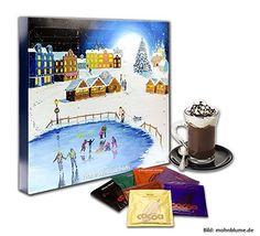Gewinne 1 von 5 Trinkschokoladen Adventskalender! Schnell auf www.facebook.com/Beautytesterin.de teilnehmen und gewinnen!