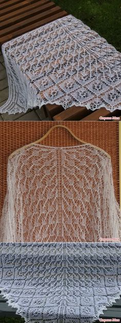 Шали Lace Knitting, Knitting Patterns, Knitted Shawls, Lace Shawls, Blanket Shawl, Shawls And Wraps, Beautiful Patterns, Scarves, Dragon