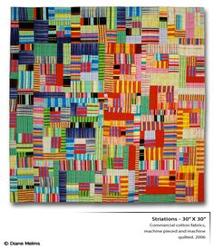 Diane Melms quilt. The opposite of minimal, but I love this one too!