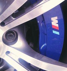 BMW M5 caliper