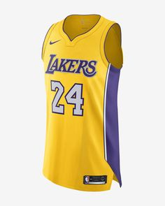 7eb5e68d07c Kobe Bryant Icon Edition Authentic (Los Angeles Lakers) Men s Nike NBA  Connected Jersey by Nike