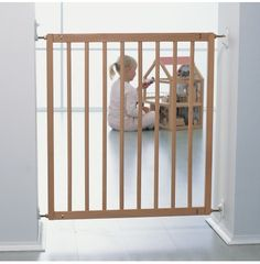 Baby/ child gate. Most popular safety item brought to keep baby/ child in or out off rooms and away from stairs also name stair gate. Stops falling or entering.