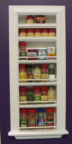 recessed shelf in kitchen for a few knick knacks..... hmmm......