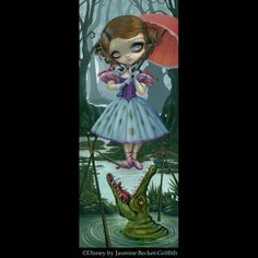 Big Blue Whale - Strangeling: The Art of Jasmine Becket-Griffith