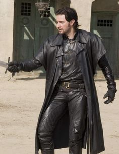 Richard Armitage in BBC's Robin Hood. I love a man in leather!