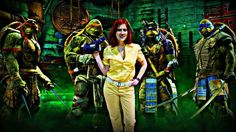 April O Neil cosplayer #cosplay #ninjaturtles #greenscreen #photoshop #halloweenideas