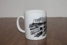Duck Geese Coffee Mug Cup Coloroll England  #NA