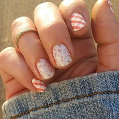 Jamberry Picnic Party with some layered over Canvas Laquer #picnicpartyjn #canvasjn #jamberry jaimesjamminjams.jamberry.com