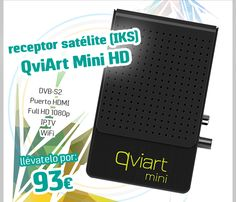 #Receptor Satélite HD QviArt Mini (IKS).        http://www.opirata.com/es/receptor-satelite-qviart-mini-p-36479.html