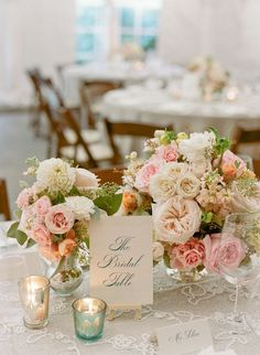 BEAUTIFUL Centerpiece by hollychappleflowers.com, Photography by kateheadley.com, Event Design   Planning by ritzybee.com