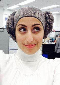 Princess Leia hijab Halloween costume