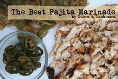 best fajita marinade recipe