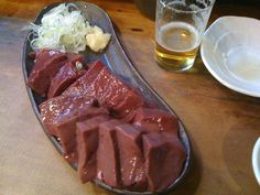 Many Japanese love eating fresh livers,but government is going to restrict offering it,so i am crying now.