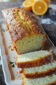 Orange Cake by Pierre Hermé Food Cakes, Cupcake Cakes, Sweet Recipes, Cake Recipes, Dessert Recipes, Köstliche Desserts, Pastry Cake, Sweet Bread, Coffee Cake