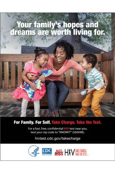 Princess.  Astronaut.  Doctor. Who knows who they'll be? No matter the #dream – be there to support it.  For #family. For #self. #TakeChargeandTest http://1.usa.gov/1jfzKsq #Health #HIV #Love