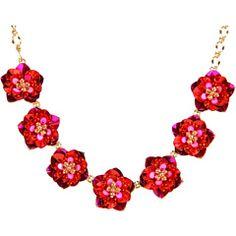 Kate Spade Strawberry Fields Necklace