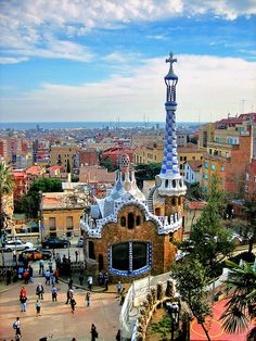 Park Güell, Barcelona / Spain -- such an amazing place. Hope to go back some day!