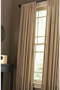 Martha Stewart Living™ Classic Cotton Drapery Panel - Draperies And Drapery Rods - Home Accents - Home Decor | HomeDecorators.com