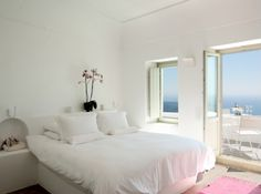 #bed #bedroom #room #white #home