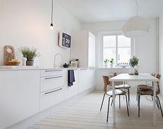 Mooie witte keuken | Inrichting-huis.com