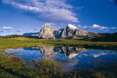 Striking Dolomite Peaks, The High Dolomites