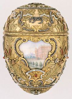 Fabergé Eggs – a symbol of Russian Imperial decadence. Peter the Great Fabergé Egg, 1903 ✿⊱╮