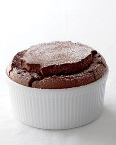 """See the """"Chocolate Souffle"""" in our Mousse, Pudding, and Pastry Recipes gallery"""