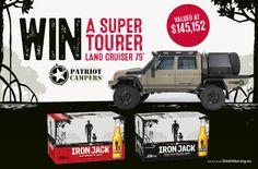 Win a Super Tourer Land Cruiser! Jack Irons, Adelaide Sa, Land Cruiser, Catalog