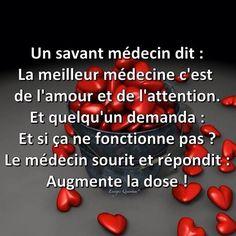 La meilleure médecine...