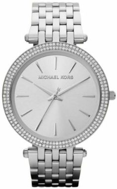 Best Buy Michael Kors Parker Glitz Silver Dial Pave Bezel Ladies Watch MK3190 at http://get.nazuka.net/review/product.php?asin=B00944CXEY
