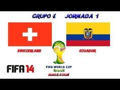 Switzerland v Ecuador