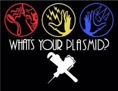 What's your plasmid?