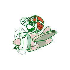 Super Mario Land takes quite a few liberties from... - The Video Game Art Archive