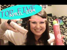 My Top Five favorites for the month of April! Check it out :)  Mary Kay 3-in-1 Cleanser & Mary Kay Skinvigorate Brush BedHead Dry Shampoo Julep Diana Polish Elastic Headbands & hair ties