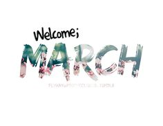 Animated Welcome March Images