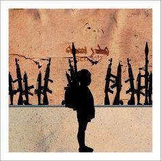 The Socio-Political Art of the Syrian Civil War Syrian Civil War, Best Street Art, Political Art, America Civil War, A Level Art, Street Art Graffiti, Military Art, North Africa, Urban Art