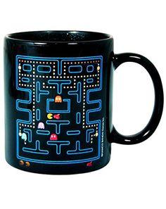 Official Pac Man Game Heat Change Mug @ niftywarehouse.com #NiftyWarehouse #PacMan #VideoGames #Pac-man #Arcade #Classic
