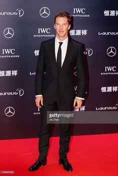 ニュース写真 : Actor Benedict Cumberbatch attends Laureus World...