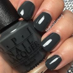OPI Washington DC Collection for Fall 2016 Liv In The Gray