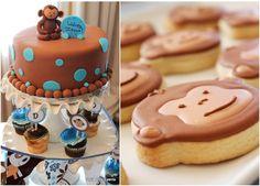 Monkey Themed Birthday Party