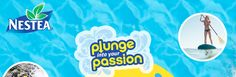 Win summer prizes on Nestea - Plunge into your Passion Sweepstakes
